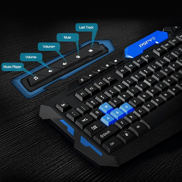 wireless gaming keyboard