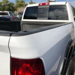 Dodge Ram Back Middle Window American Flag Decal 2009 2019 Elevated Auto Styling