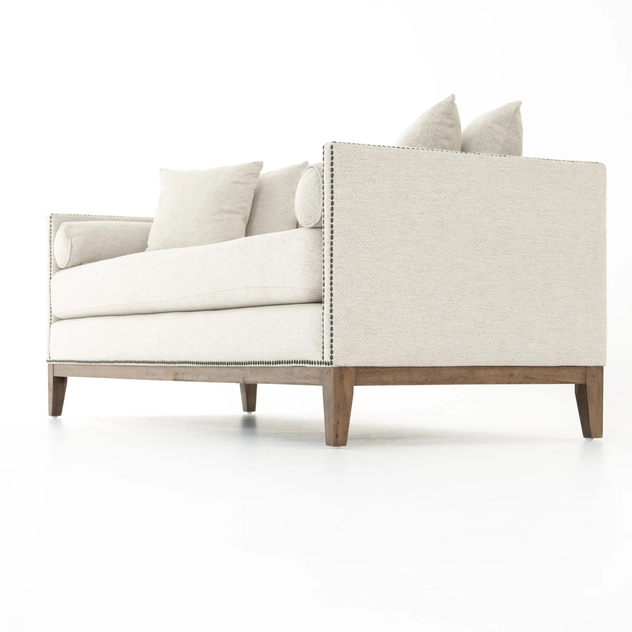 double chaise noble platinum daybed