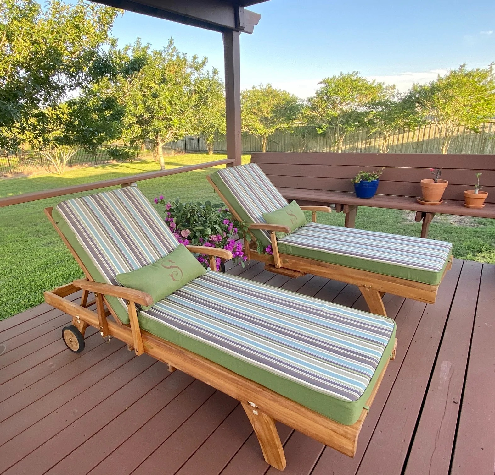 outdoor patio cushions made to last