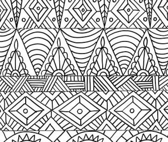 Tribal Designs  Coloring Pages Alisa Burke