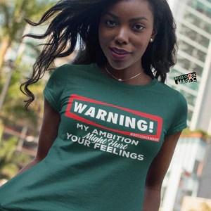 Warning! My Ambition