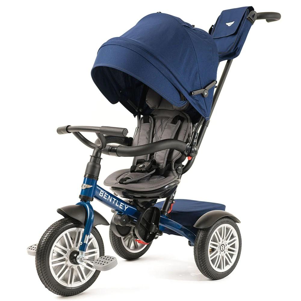 Sequin Blue Bentley 6 in Stroller Trike