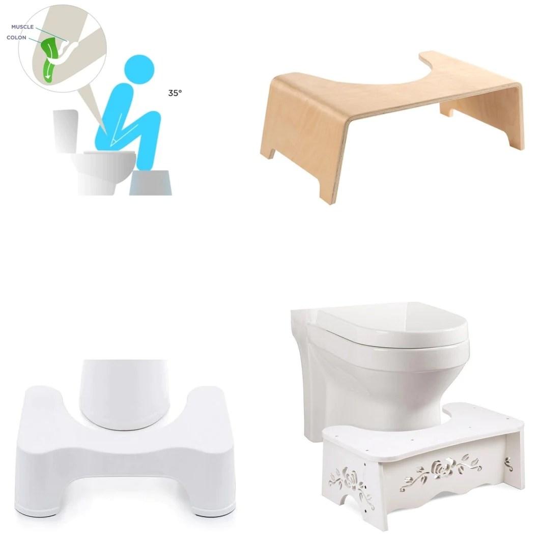 Tabourets Physiologiques De Toilette Marche Pied Wc Large Choix