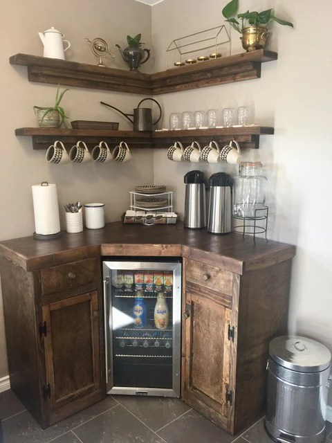 Kitchen Decor Shelves