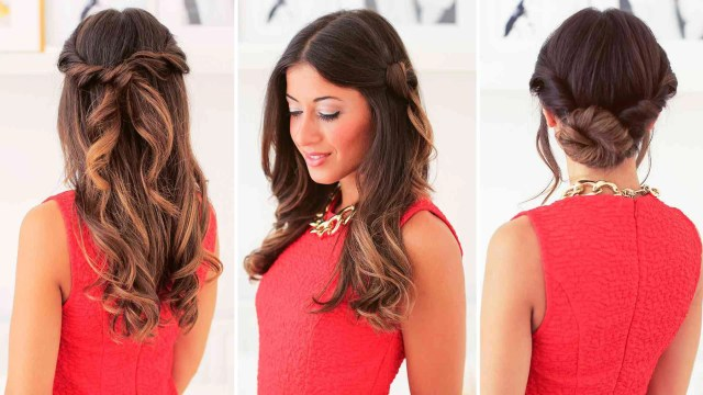 easy hairstyles: easy everyday hairstyles – luxy hair