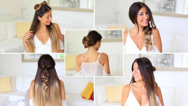 5 easy one minute heatless hairstyles – luxy hair