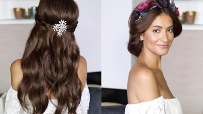 easy wedding hairstyles with and without extensions – luxy hair