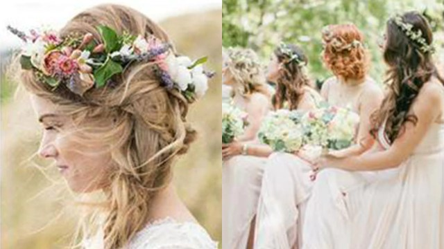 bridesmaid hairstyles: maid of honour hair ideas, styles