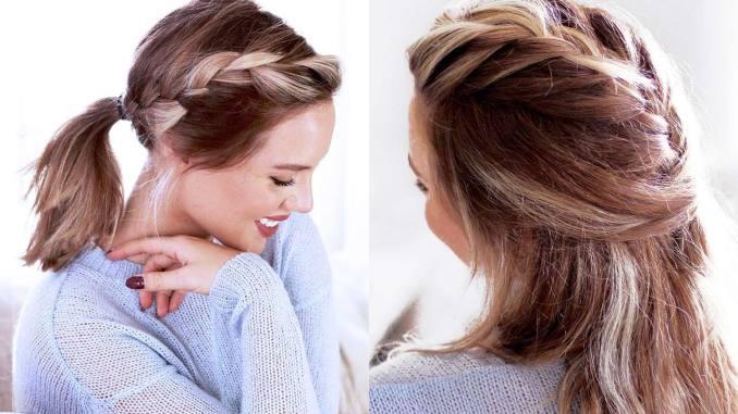 cute hairstyles for short hair and medium length hair – luxy