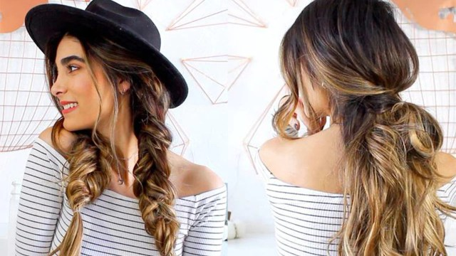 10 heatless hairstyles for fall with haley's corner – luxy hair