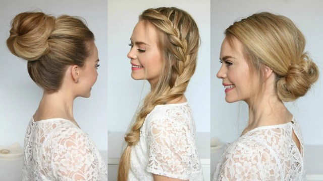 how to clip in extensions for different hairstyles - missy