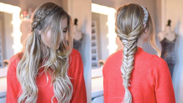 holiday & party hairstyles: 3 easy holiday hairstyles – luxy