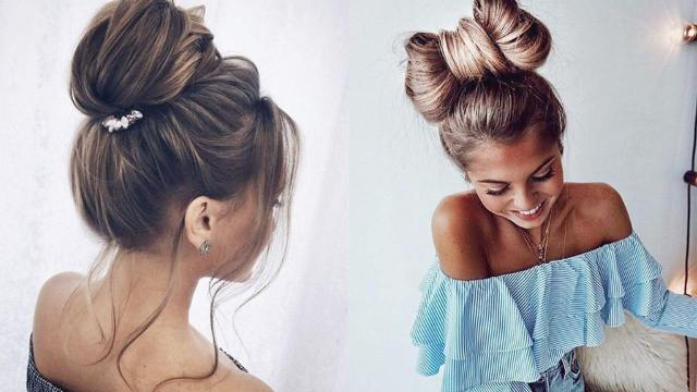 bun hairstyles: 9 top knots for every hair type – luxy hair