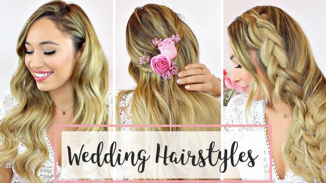 wedding hair: 3 diy hairstyle ideas – luxy hair
