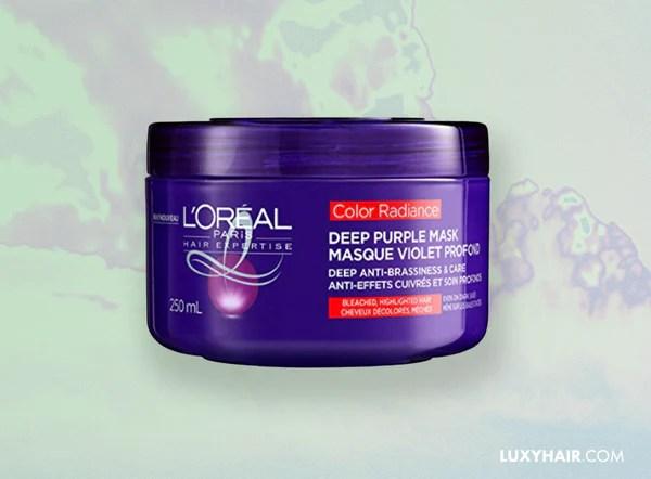 L'Oreal Paris Color Radiance Deep Purple Mask