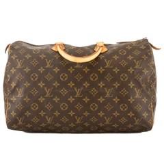 Louis Vuitton Monogram Canvas Speedy 40 Bag (Pre Owned)