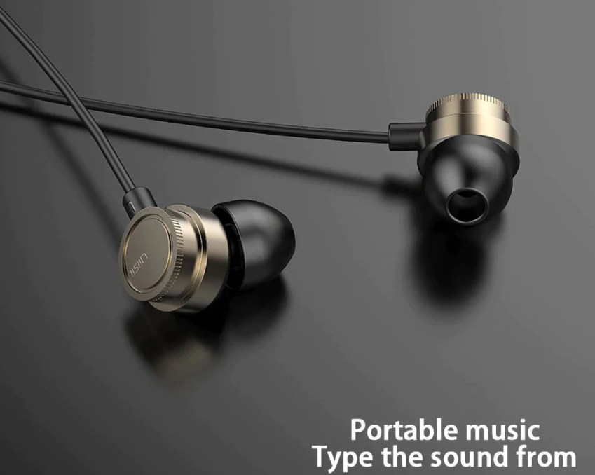 Uiisii HM13 Piston Wired In Ear Heavy Bass Earphone with Mic 1
