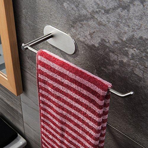 venagredos self adhesive towel bar hand