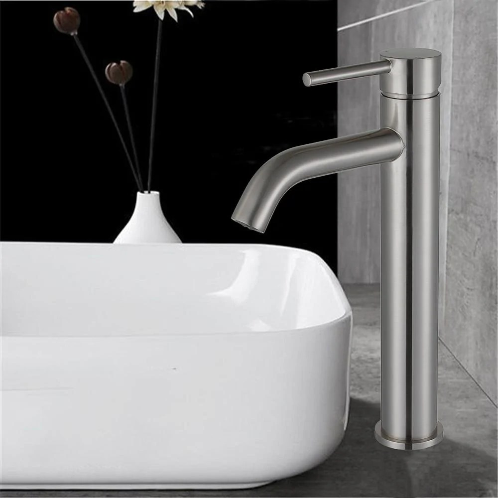 single handle modern bathroom sink faucet upc certified deck mount s homebeyond
