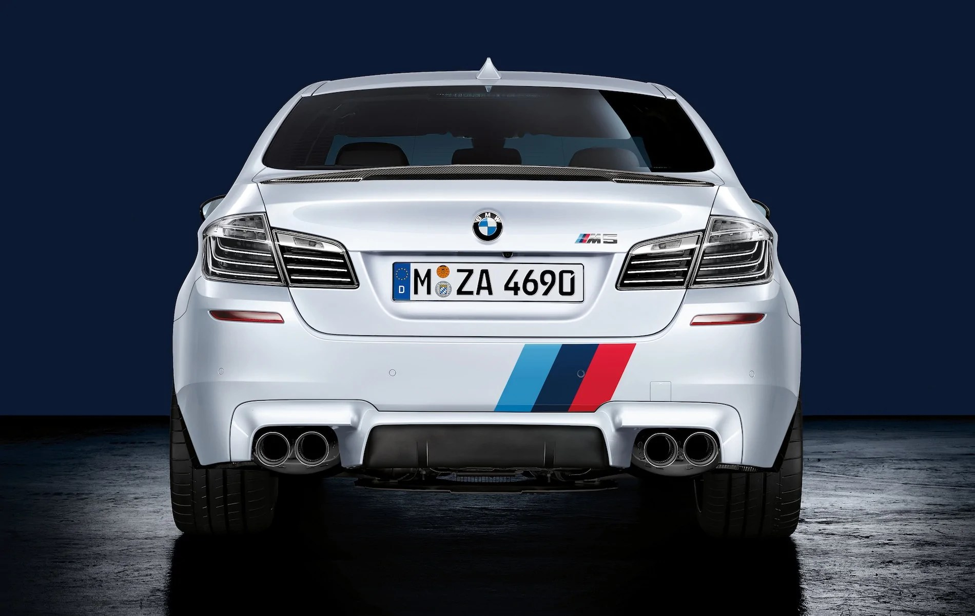 bmw m performance f10 m5 performance exhaust