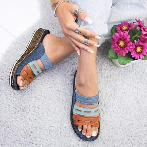 Dr Home™ - Three Color Posture Sandals Blue Color