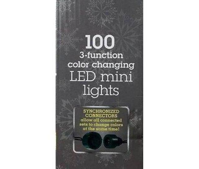 Box Of Sylvania Multi Colored Led Christmas Lights New