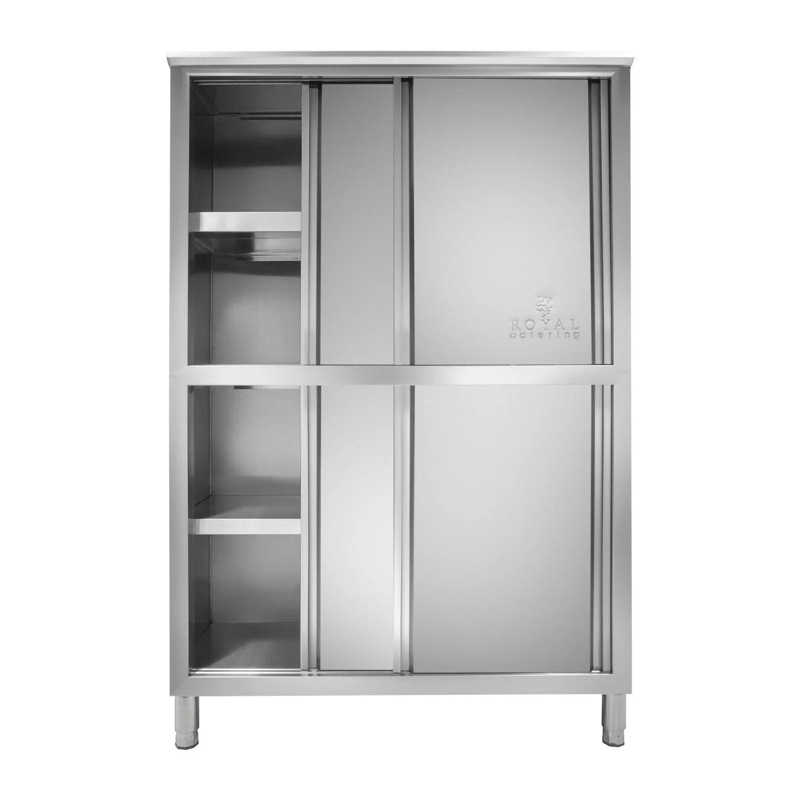armoire cuisine professionnelle inox 4 etages 50 x 118 x 180 cm
