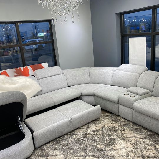 dreamer sectional sofa bed recliner all in 1