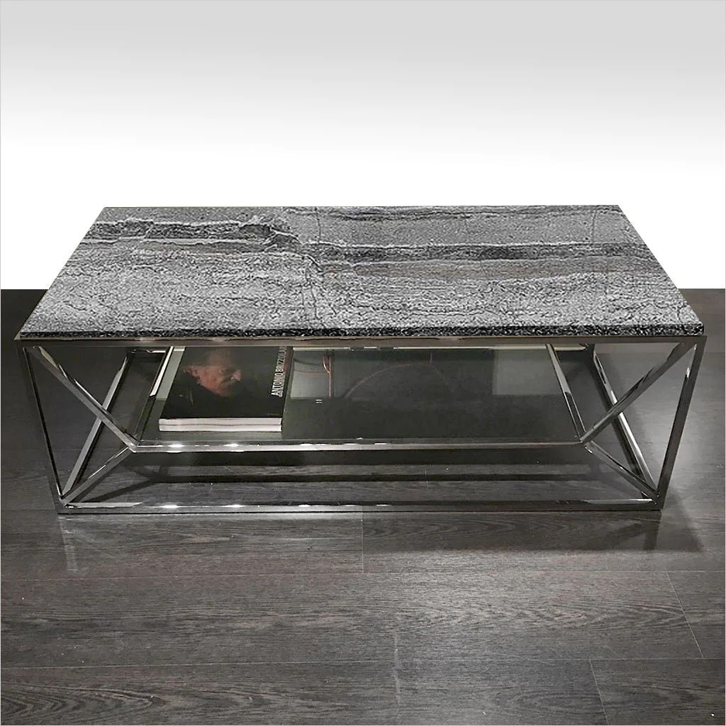 sospeso coffee table midnight grey