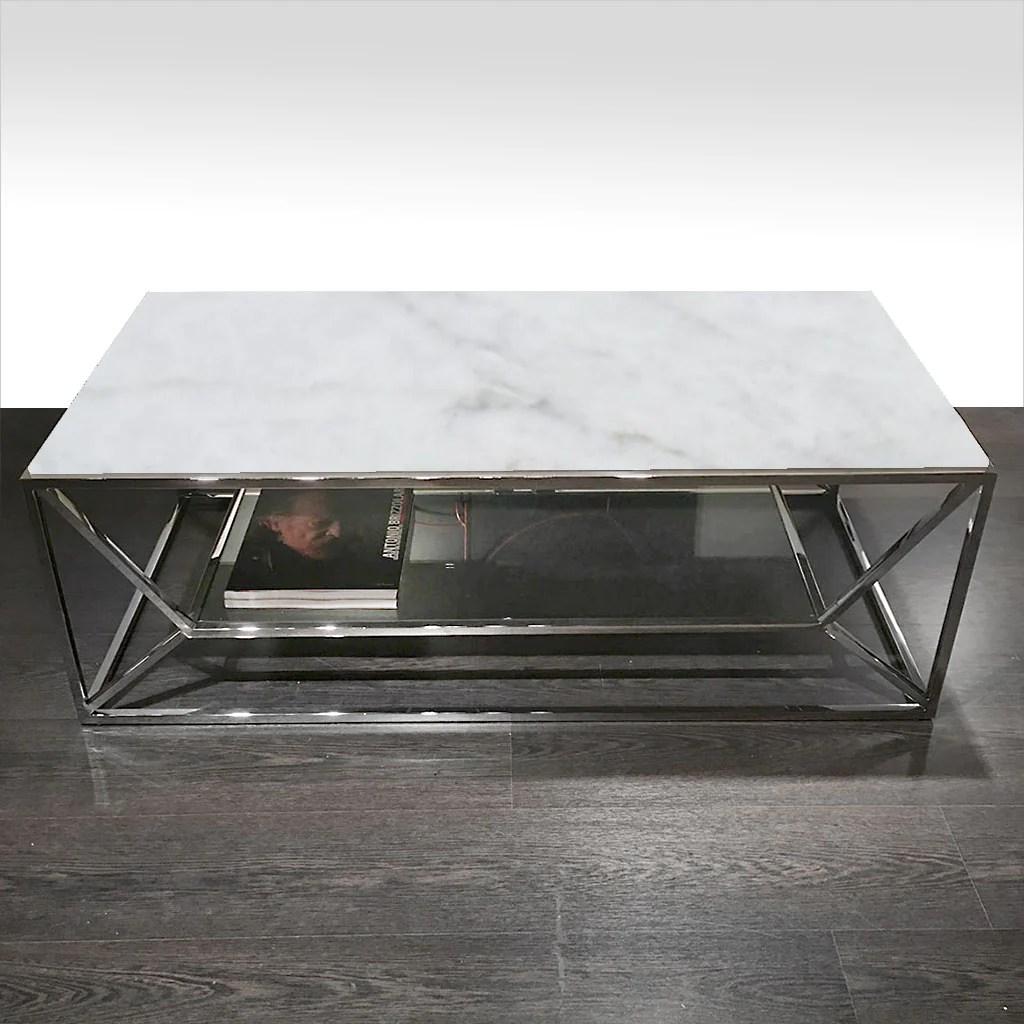 sospeso coffee table cortina white