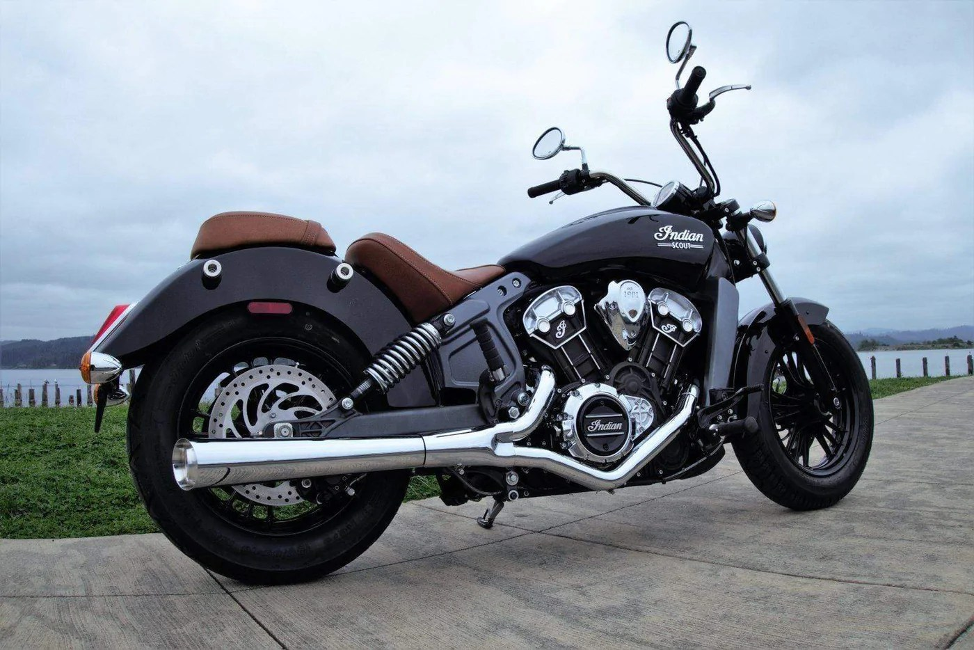 exhaust brave chrome by rpw