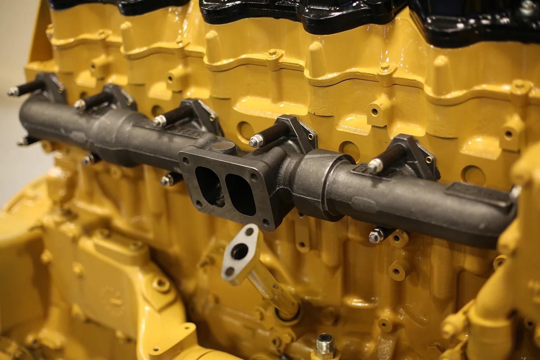 pdi big boss cat 3406e c15 c16 exhaust manifold