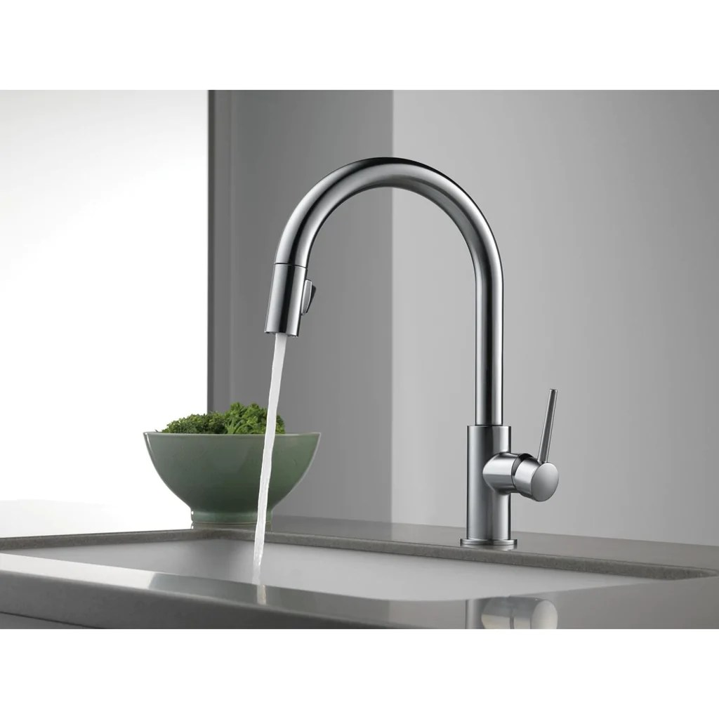 delta stainless steel trinsic single