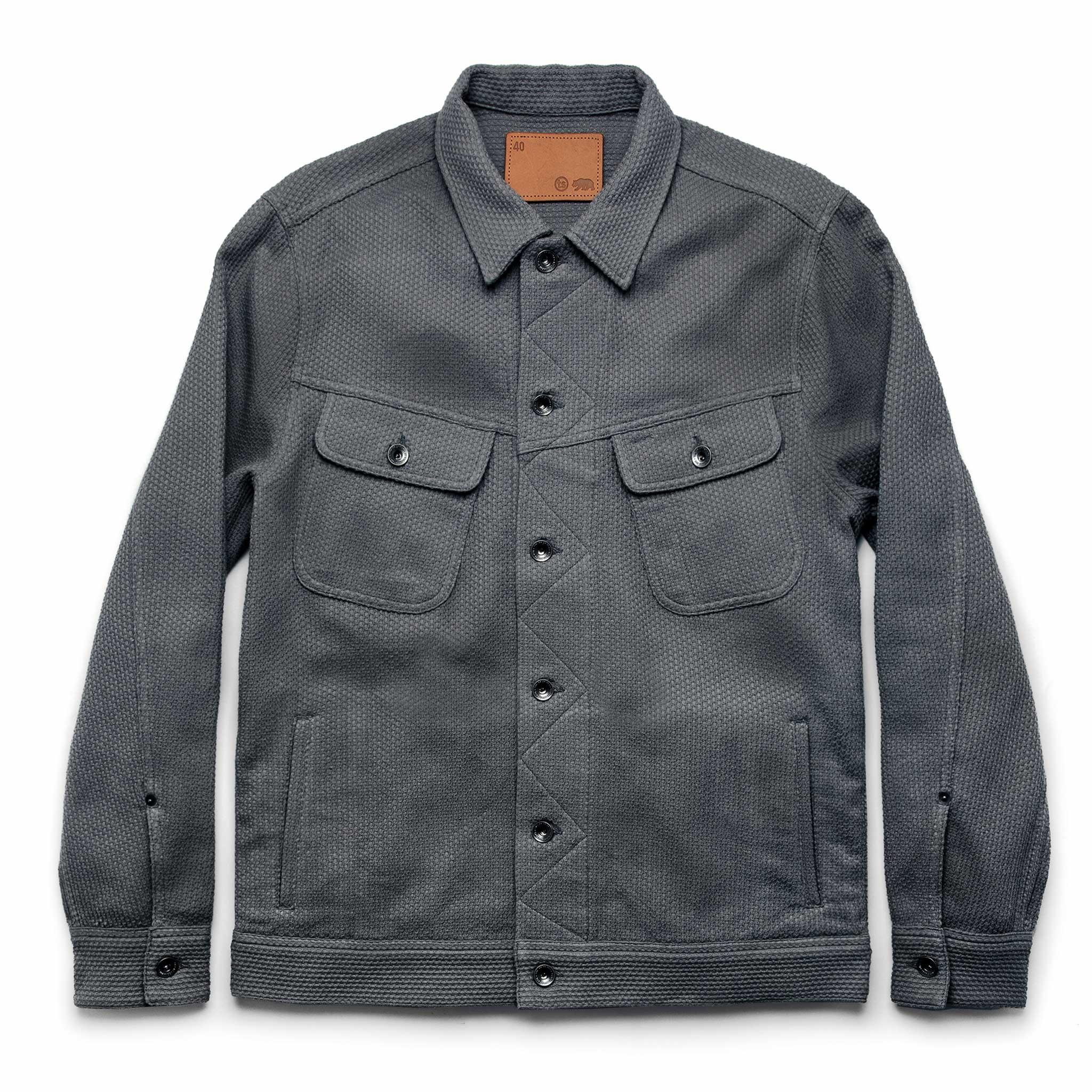 The Long Haul Jacket in Ash Sashiko | Taylor Stitch…