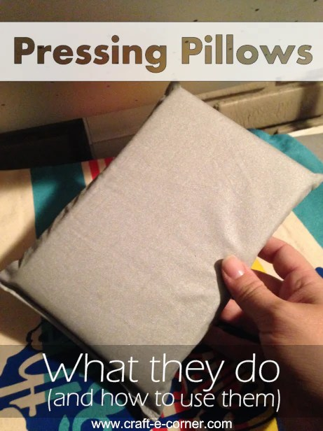 pressing pillows what they do and how