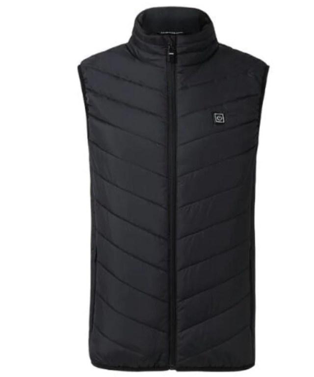 Heated vest on display.