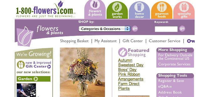 1-800 Flowers.com - 1999