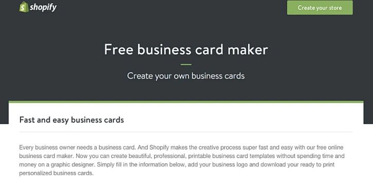 10 Free Business Card Makers With Customizable Templates Free Business Card Maker