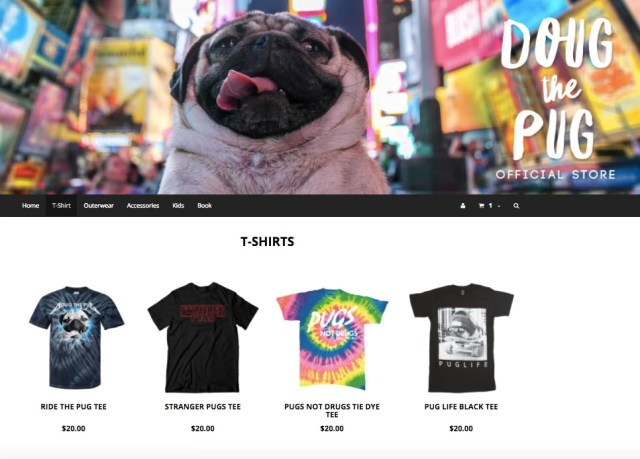 doug the pug making money on instagram