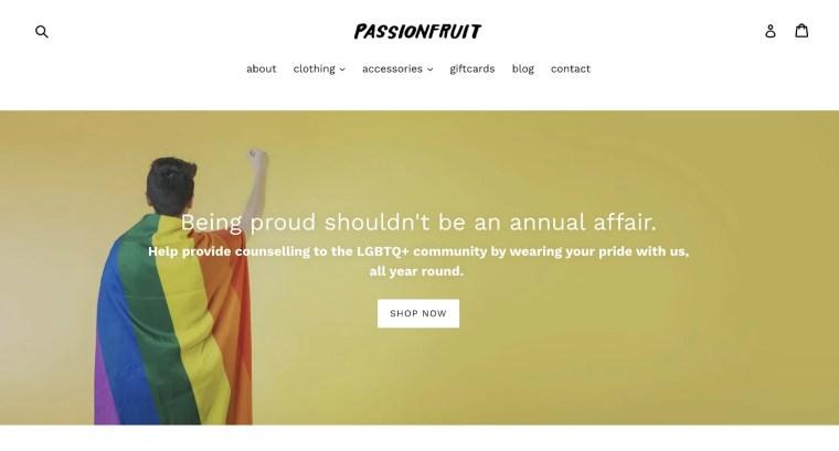 Passionfruit Print on Demand