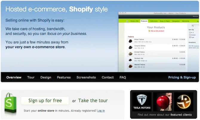 Shopify - 2008