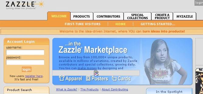 Zazzle - 2004