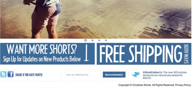 Option 1: Offer Free Shipping