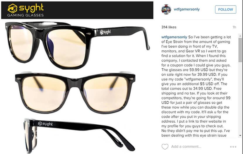 Instagram shoutout post