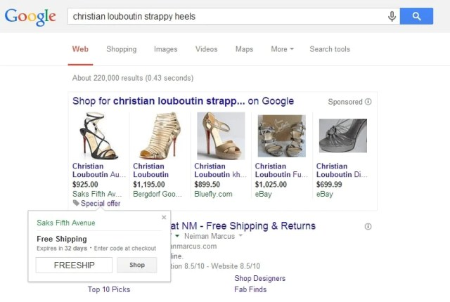 google merchant promotions