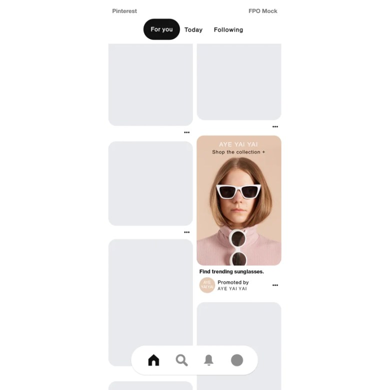 Example of a Pinterest ad that's used to drive traffic to websites
