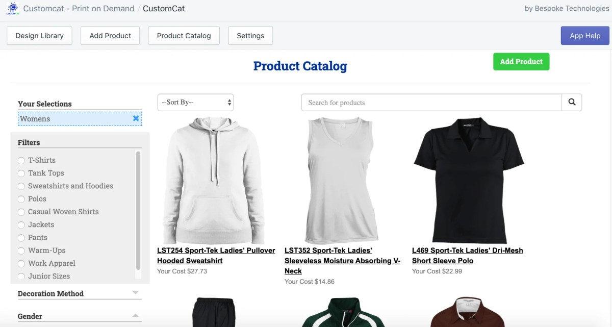 print on demand company custom cat's catalog