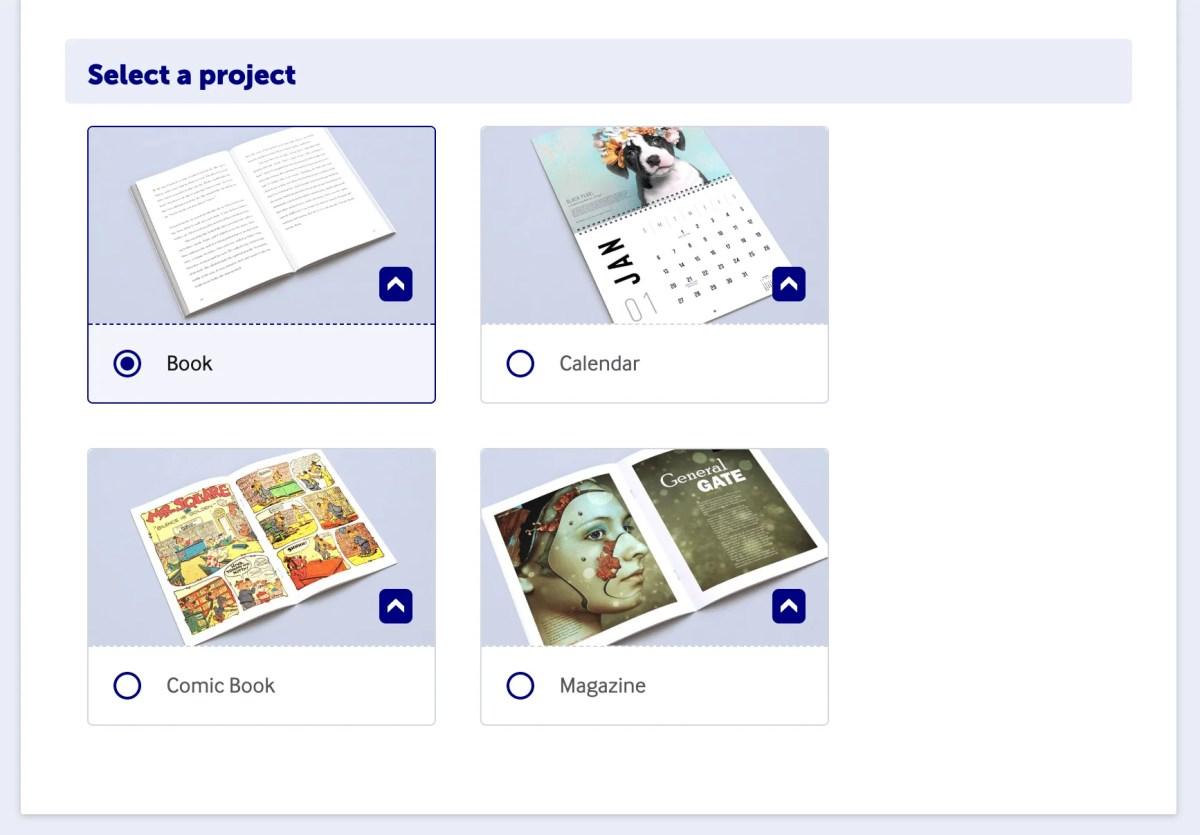 lulu xpress print on demand book options