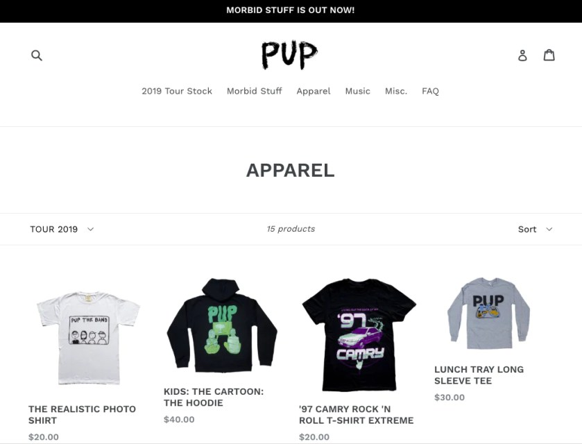 sell-merch-pup-theband